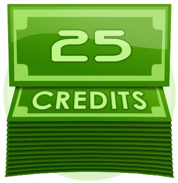 25 Credit Tip