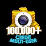 100,000+ Credit Multi-User Show