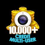 10,000+ Credit Multi-User Show
