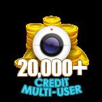 20,000+ Credit Multi-User Show