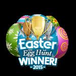 Easter 2015 Egg Hunt Winner