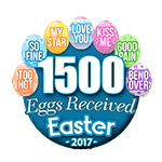 1,500 Eggs