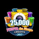 Fiesta 25,000 Credits