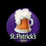 St Patricks 2014 Beer