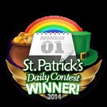 St Patricks 2014 Daily Winner