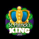 St Patricks 2015 King