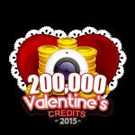 Valentine's 200,000 Credits