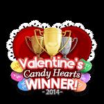 Valentines 2014 Candy Winner