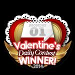 Valentines 2014 Daily Winner