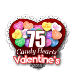 75 Candy Hearts