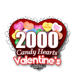 2000 Candy Hearts