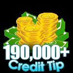 190,000 - 199,999 Credit Tip