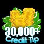 30,000 - 49,999 Credit Tip