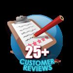25 Customer Reviews