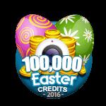 Easter 100,000 Credits
