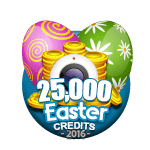 Easter 25,000 Credits