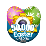 Easter 50,000 Credits