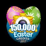 Easter 150,000 Credits