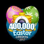 Easter 400,000 Credits