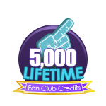 5k Lifetime Fan Club Credits