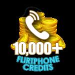 Flirt Phone 10,000 Credits
