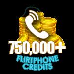 Flirt Phone 750,000 Credits