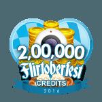 Flirtober's 200,000 Credits