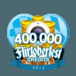 Flirtober's  400,000 Credits
