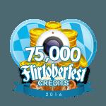 Flirtober's 75,000 Credits