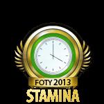 Flirt of the Year Stamina 2013