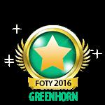 Flirt of the Year Greenhorn