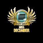 Miss FOTY December 2016