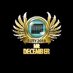 Mister FOTY December 2018
