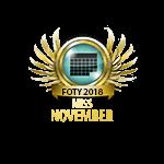 Miss FOTY November 2018