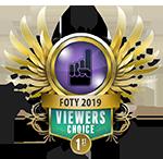 FOTY Viewers Choice 1st 2019