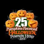 Halloween 25 Pumpkins