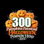 Halloween 300 Pumpkins