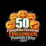 Halloween 50 Pumpkins