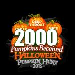 Halloween 2015 Pumpkins 2000