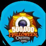 Halloween 500,000 Credits