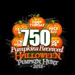 Halloween 2018 Pumpkins 750