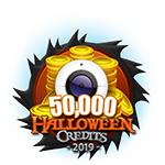 Halloween 50,000 Credits