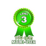 Multi-User 100cpm - Level 3