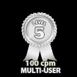 Multi-User 100cpm - Level 5