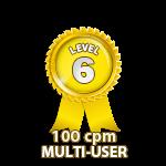 Multi-User 100cpm - Level 6
