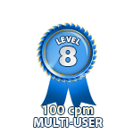 Multi-User 100cpm - Level 8