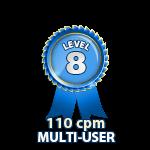 Multi-User 110cpm - Level 8