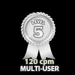 Multi-User 120cpm - Level 5