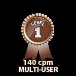 Multi-User 140cpm - Level 1