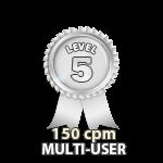 Multi-User 150cpm - Level 5
